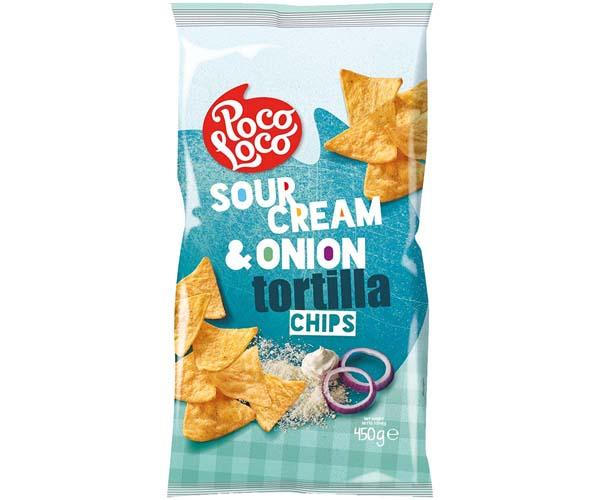 Poco Loco Tortillas - Green - Sour Cream - 12x450g