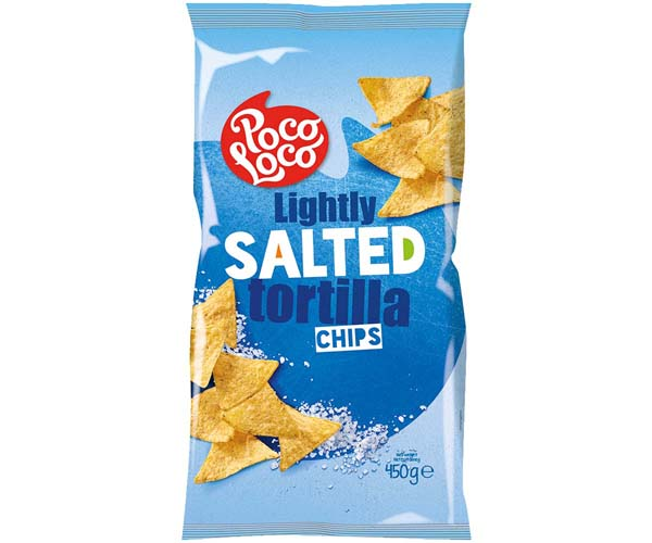 Poco Loco Tortillas - Blue - Salted - 12x450g