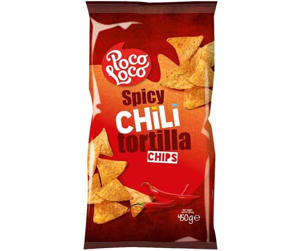 Poco Loco Tortillas - Red - Chilli - 12x450g