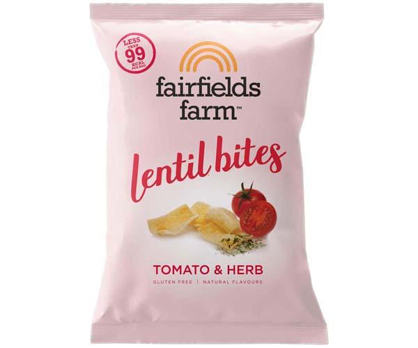 Fairfields - Lentil Bites - Tomato & Herb - 18x20g
