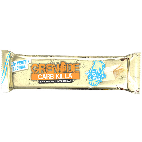 Grenade - Carb Killa Bar - White Chocolate Cookie - 12x60g