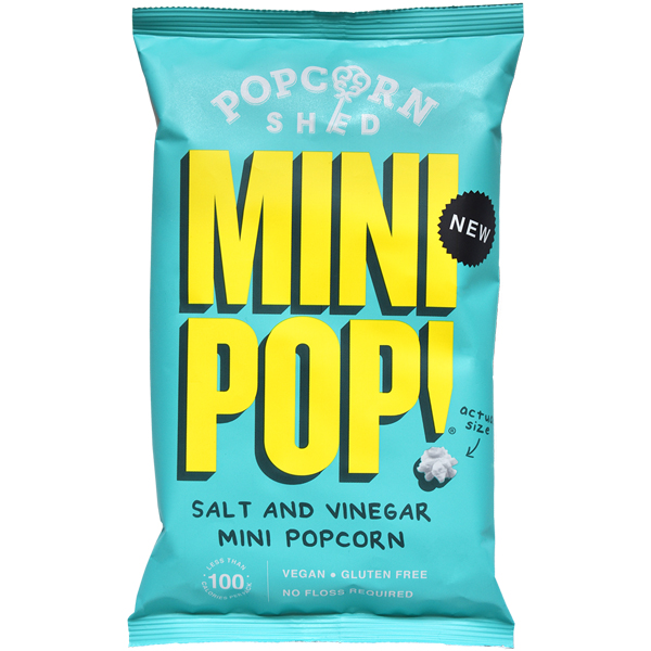 Popcorn Shed - Mini Pop! - Salt & Vinegar - 24x22G