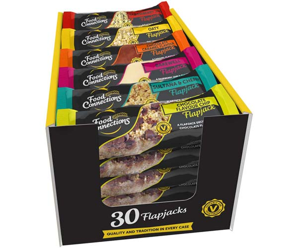 Food Connections - Classic Mixed Flapjacks - 30x100g