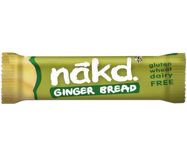Nakd Nudie - Ginger Bread - 18x35g