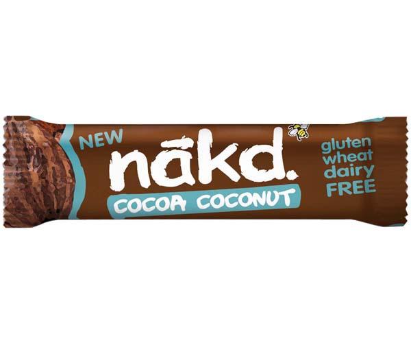 Nakd Nudie - Cocoa Coconut - 18x35g