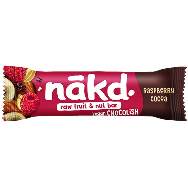 Nakd Chocolish Big Bite - Raspberry - 16x50g