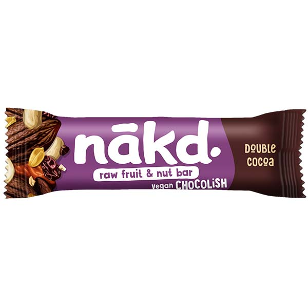 Nakd Chocolish Big Bite - Double Choc - 16x50g