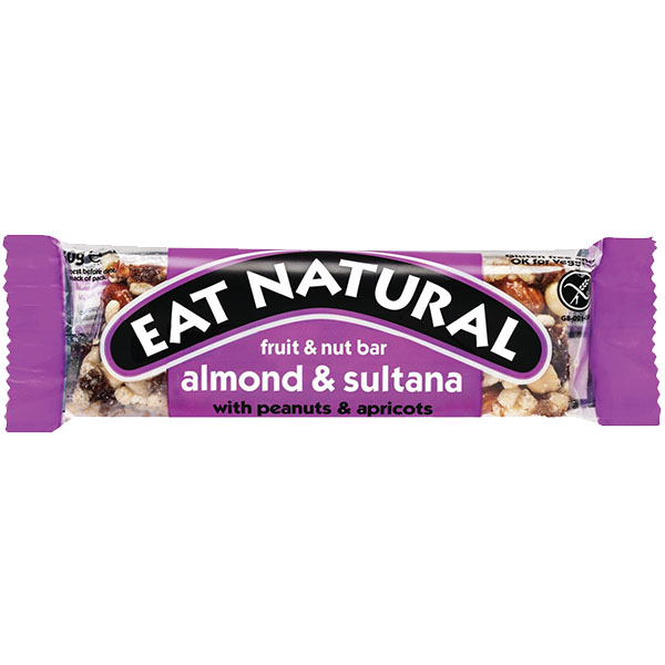 Eat Natural - Brazils & Sultana with Peanuts & Almonds - 12x50g