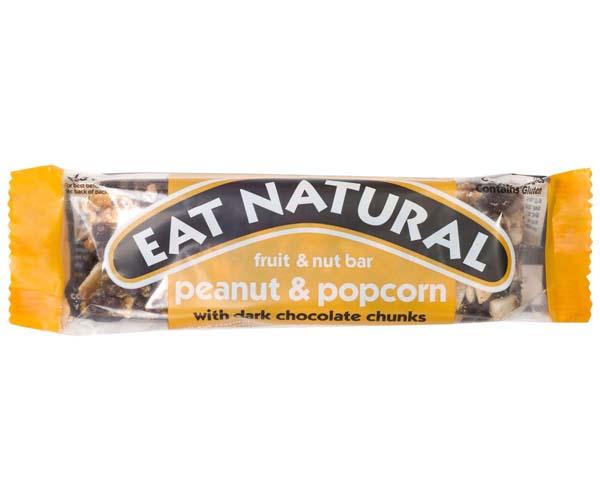 Eat Natural - Peanut & Popcorn - 12x45g