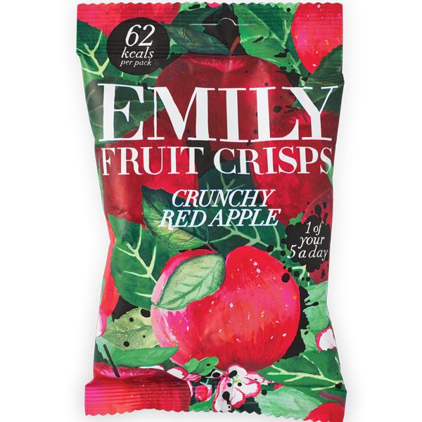 Emily Fruit Crisps - Crunchy Apple - 14x15g