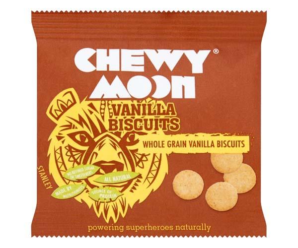 Chewymoon - Vanilla Biscuits - 12x20g