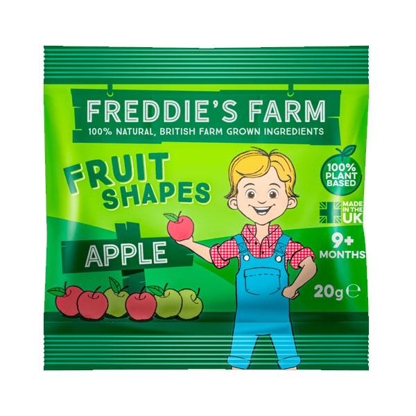 Freddies Farm - Fruit Shapes Apple - 16x20g