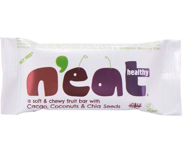 N'Eat Healthy - Cacao, Coconuts & Chia Seeds - 16x45g