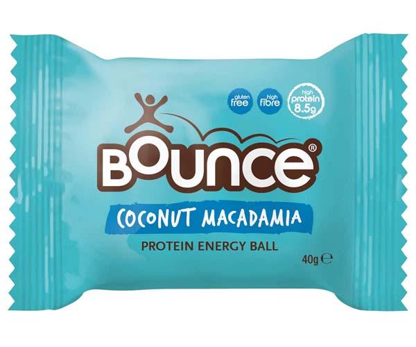 Bounce Balls - Coconut & Macadamia Ball - 12x40g