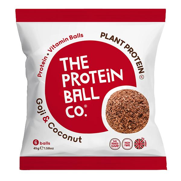 Protein Balls - Goji & Coconut - Bags - 10x45g