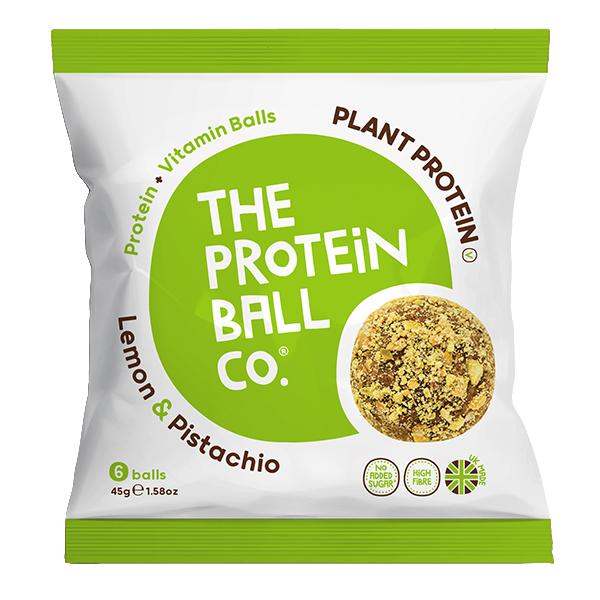 Protein Balls - Lemon & Pistachio - Bags - 10x45g