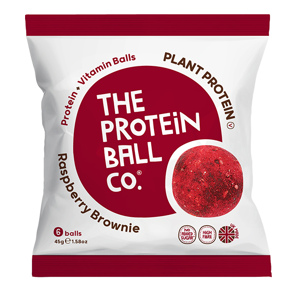 Protein Balls - Raspberry Brownie - Bags - 10x45g