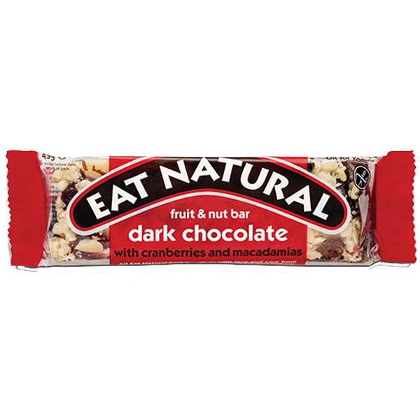 Eat Natural - Cranberry, Macadamias & Dark Choc - 12x45g
