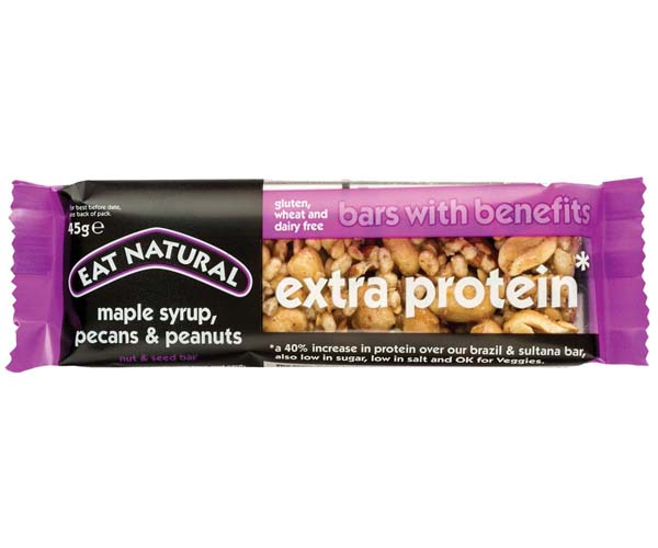 Eat Natural - Extra Protein (Maple, Pecans & Peanut) -12x45g