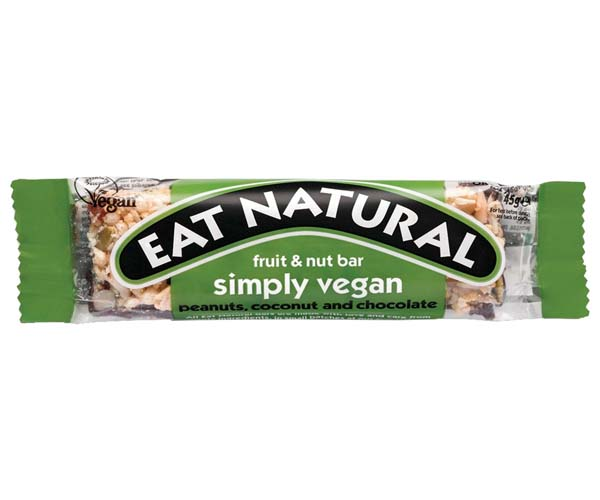 Eat Natural - Simply Vegan - 12x45g