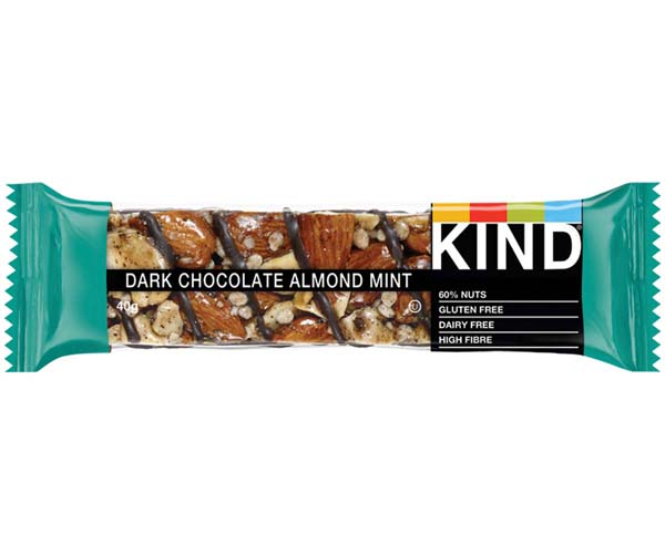 Kind Bar - Dark Chocolate, Almond & Mint - 12x40g