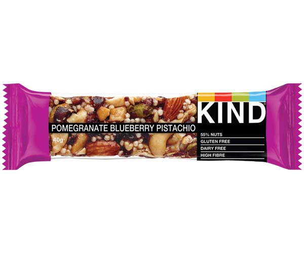 Kind Bar - Pomegranate, Blueberry & Pistachio - 12x40g