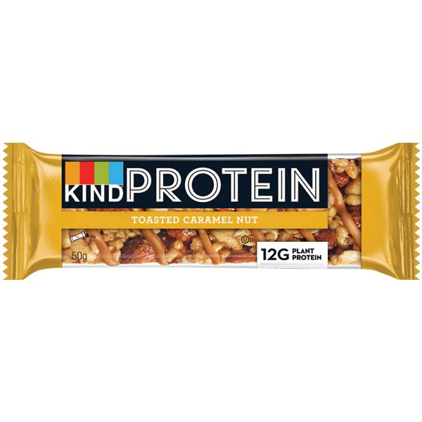 Kind Protein Bar - Toasted Caramel Nut - 12x50g