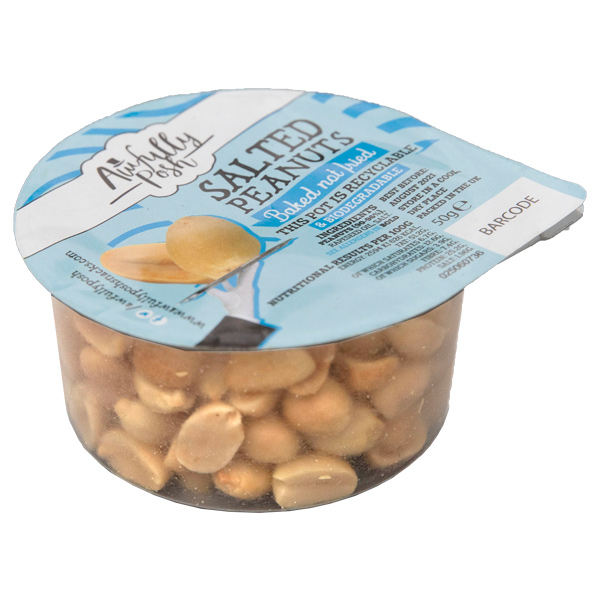 Awfully Posh - Salted Peanut Pots - 24x50g