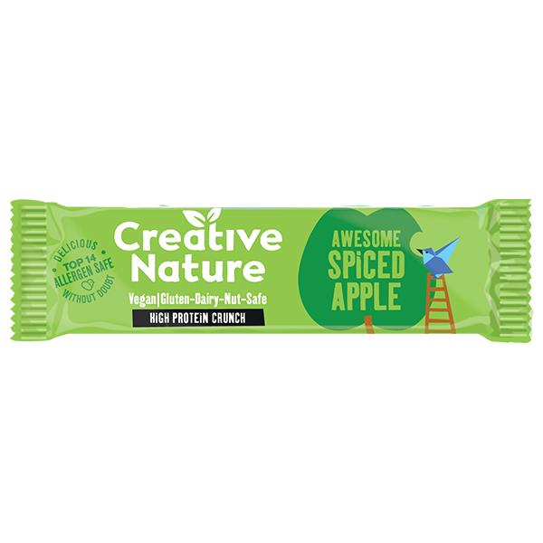 Creative Nature - Protein - Apple Pie Flapjack - 16x40g
