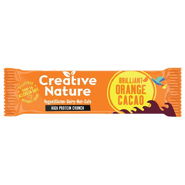 Creative Nature - Protein - Cacao Orange Flapjack - 16x40g