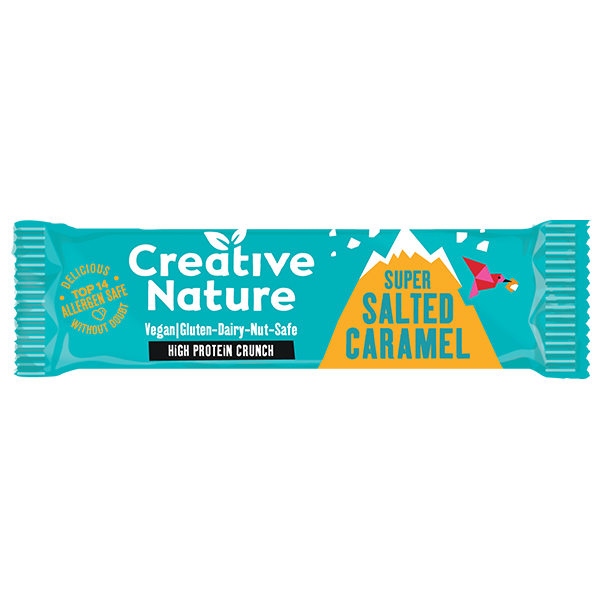 Creative Nature - Protein - Salted Caramel Flapjack - 16x40g