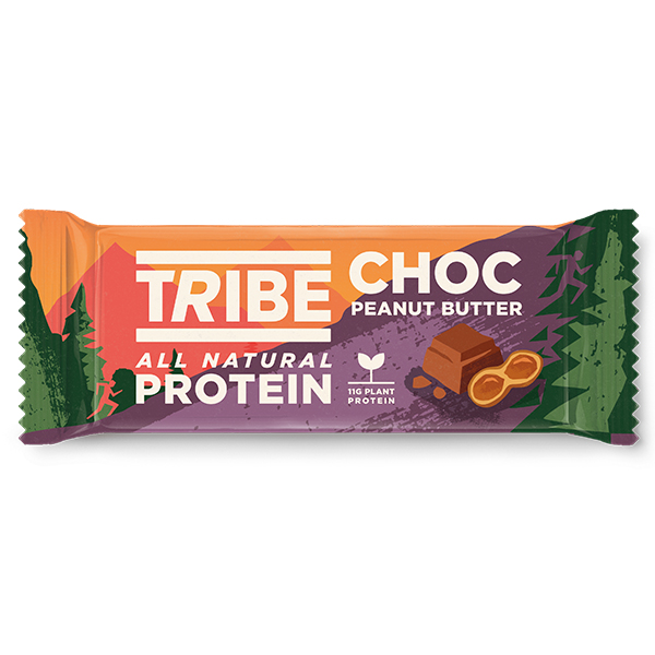 Tribe - Vegan Protein - Choc Peanut Butter - 16x50g