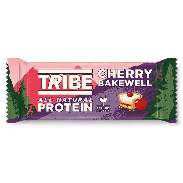 Tribe - Vegan Protein - Cherry Bakewell - 16x46g