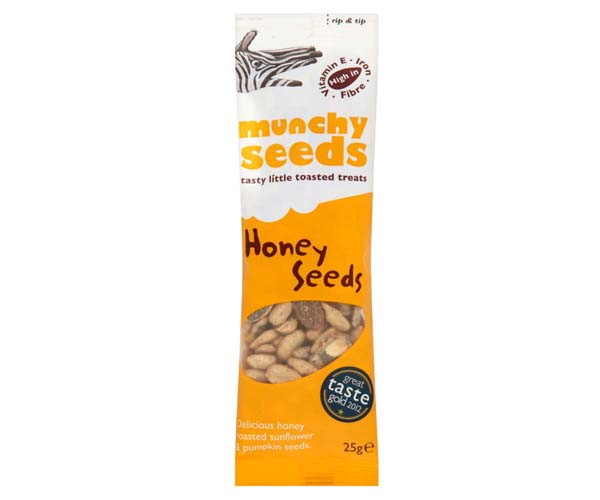 Munchy Seeds - Honey Roasted - 12x25g