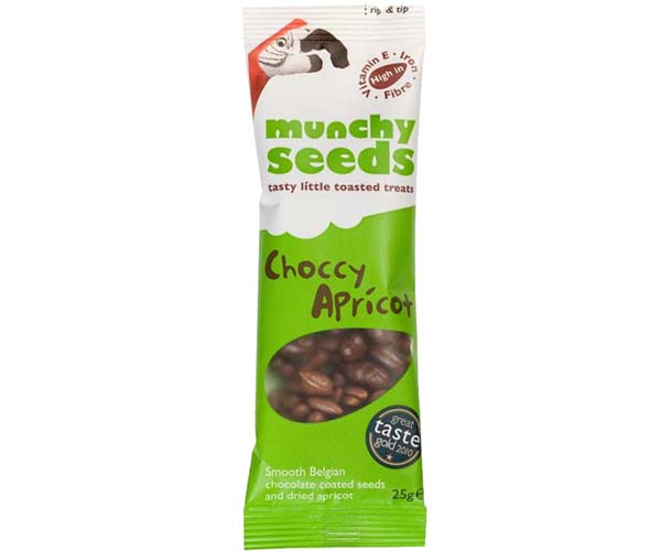 Munchy Seeds - Choccy Apricot - 12x25g