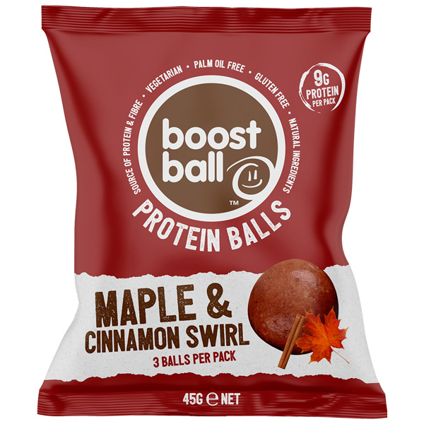 Boost Ball - Maple & Cinnamon - 12x42G