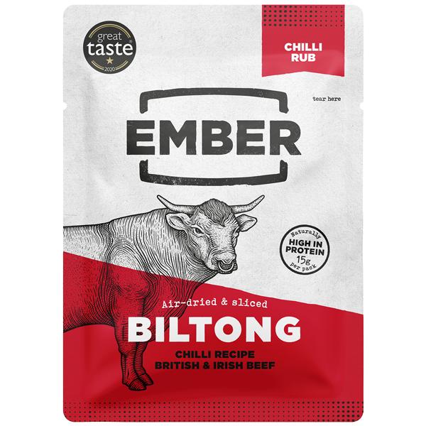 Ember Snacks Biltong - Chilli - 10x28G