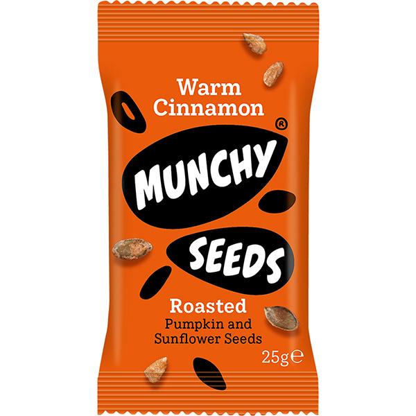 Munchy Seeds - Warm Cinnamon - 12x25g
