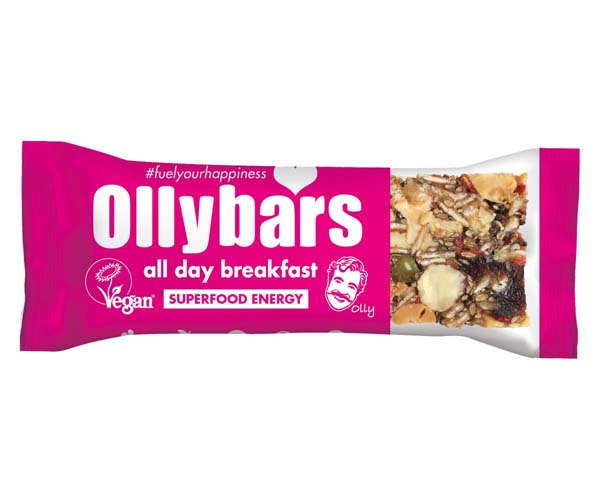Olly Bars -  All Day Breakfast - 20x60g
