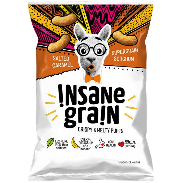 Insane Grain - Salted Caramel - 16x24g