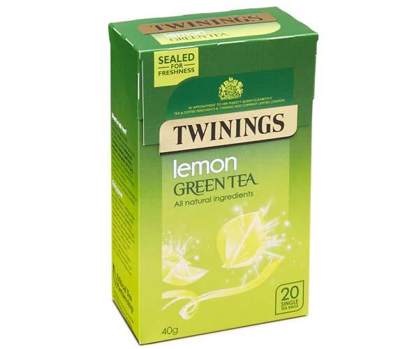 Twinings - Lemon & Green Tea - 4x20 Env