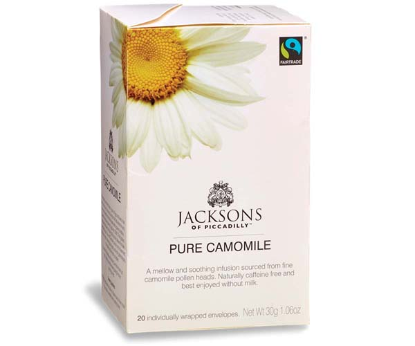 Jacksons Of Piccadilly F/T - Chamomile Tea - Env - 4x20