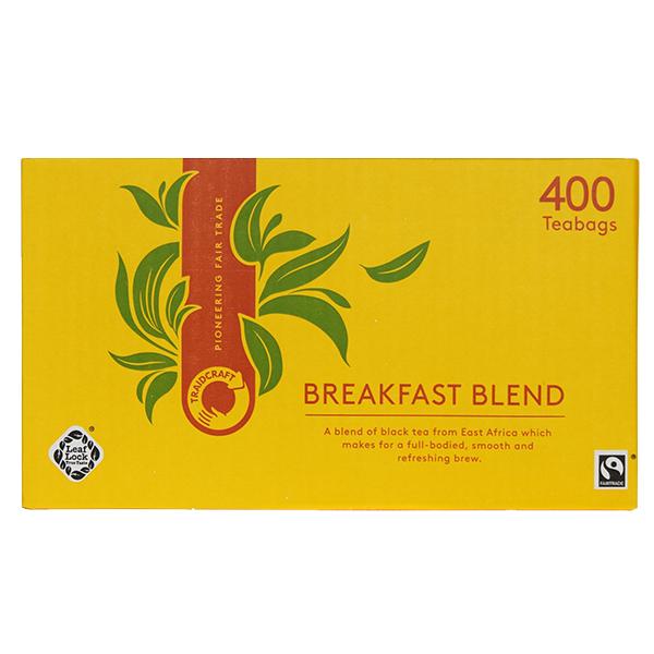 Traidcraft - F/T Breakfast Blend Teabags - 1x400