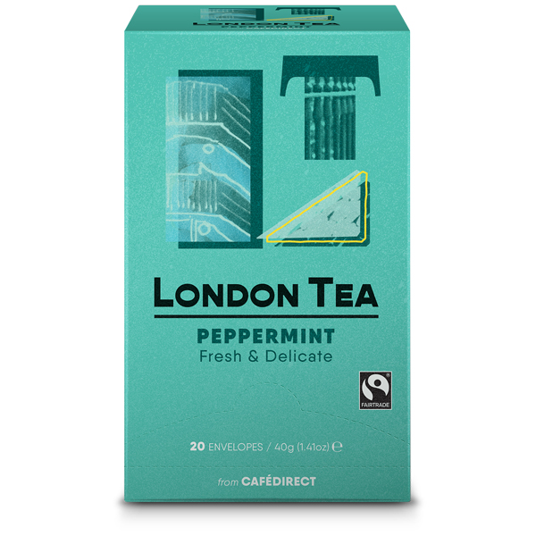 London Tea Company - Pure Peppermint - E,S&T - 6x20