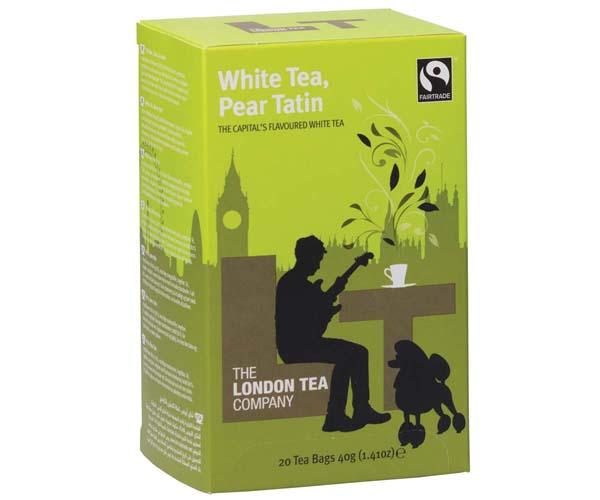 London Tea Company - White Tea & Pear Tatin - E,S&T - 6x20