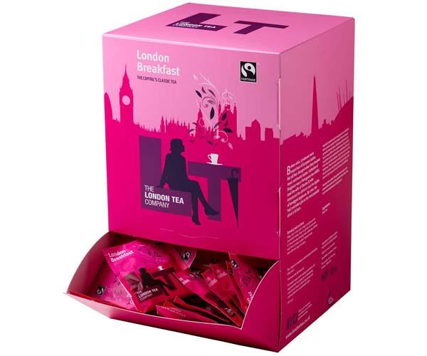 London Tea Company - 250 - London Breakfast - E,S&T - 4x250
