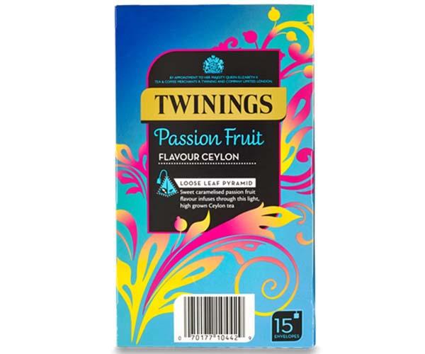 Twinings - 216 Range - Passion Fruit Ceylon - 4x15