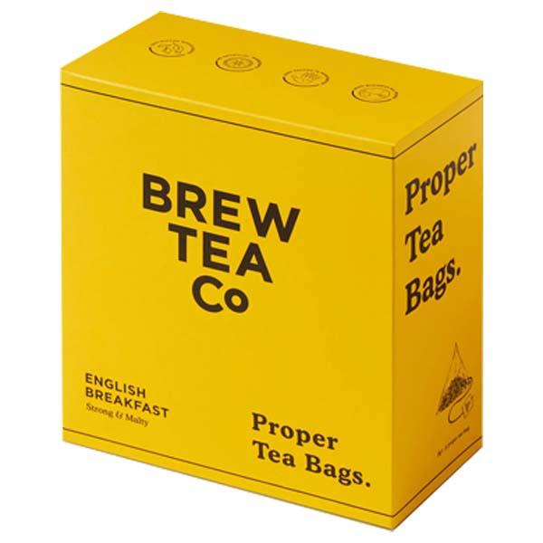 Brew Tea Bags - English Breakfast - 1x100 Black Bag