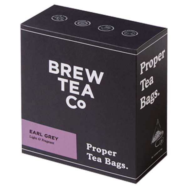 Brew Tea Bags - Earl Grey - 1x100 Black Bag