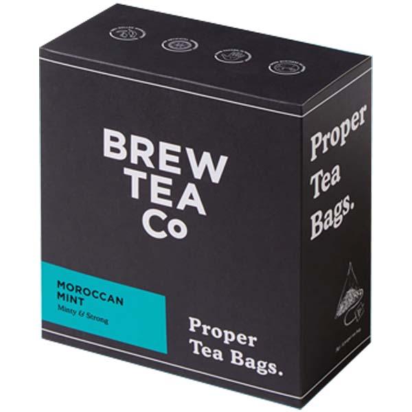 Brew Tea Bags - Moroccan Mint - 1x100 Black Bag